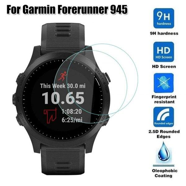 Защитная пленка для стекла часов Garmin Forerunner 945