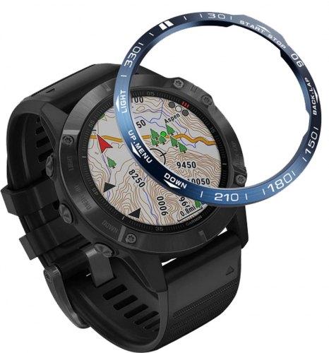 Защита  накладка безеля для часов Garmin Fenix 6 - 5