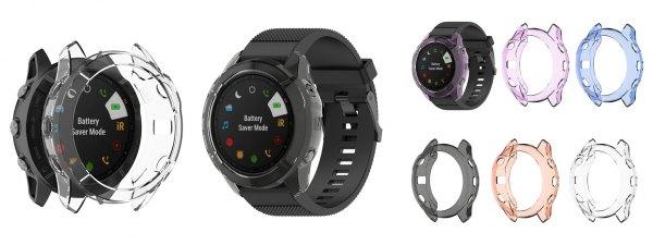 Силиконовая защита безеля для часов Garmin Fenix 6, 6S, 6X