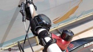 Вело крепление на руль для часов Garmin - вид сбоку