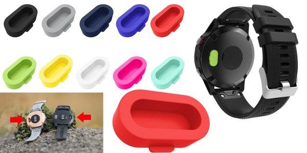 Защитные колпачки зарядных контактов для часов Garmin Fenix 6 - 6S - 6X - Forerunner 935 - 945 и другие модели