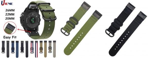 НАТО-вский нейлоновый ремешок для часов Garmin Fenix