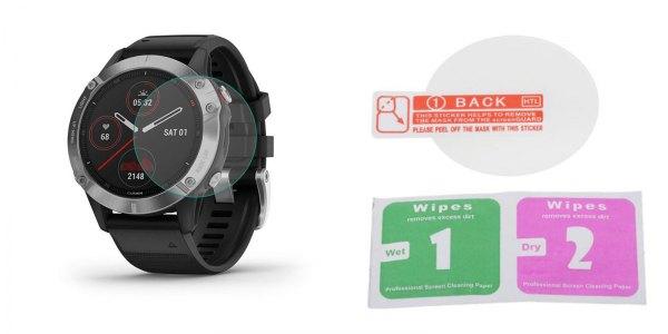 Защитное стекло - пленка для часов Garmin Fenix 6 - 6S - 6X Pro Sapphire