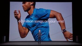 Музыка в часах - Презентация новой модели часов Apple Smart Watch Series 3
