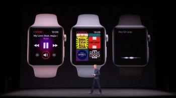 Стреам музыки - Презентация новой модели часов Apple Smart Watch Series 3