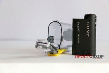 Экшн--камера и аква-бокс SPK-AS2