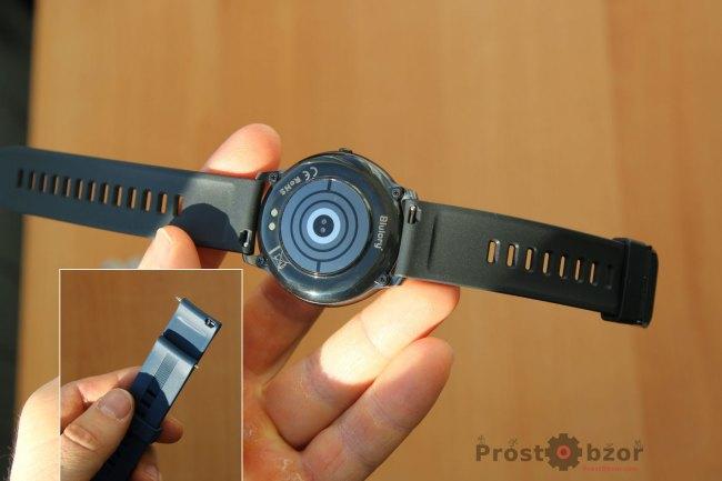 Силиконовый ремешок часов Blulory BW 11