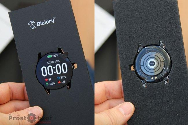 Комплектация часов Blulory BW11
