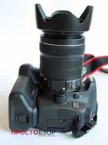 Внешний вид камеры Canon EOS 70D и бустера BG-E14