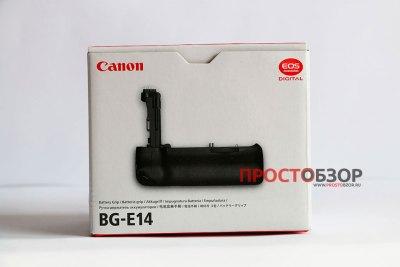 Коробка для бустера или аккумуляторной ручки BG-E14