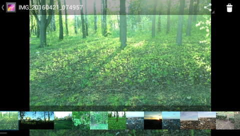 Garmin Monterra - фото камеры