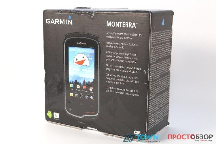 Коробка - GPS навигатор Garmin Monterra
