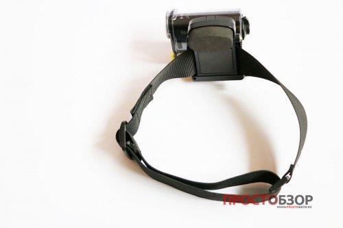 Головное крепление BLT-UHM1  для экшн-камеры Sony HDR-AS30 - вид сзади