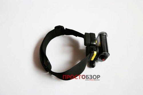 Головное крепление BLT-UHM1  для экшн-камеры Sony HDR-AS30 - вид сбоку