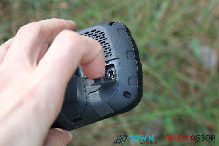 мини USB GPS навигатора Garmin Monterra