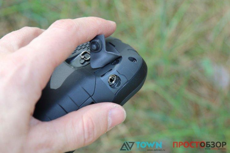 гнездо для наушников GPS навигатора Garmin Monterra