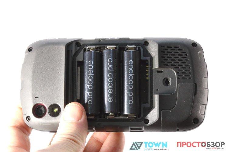 Батарейки GPS навигатора Garmin Monterra
