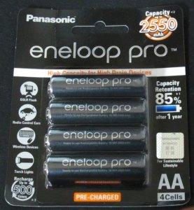 Батарейки Eneloop с низким током разряда для навигаторов и фонариков
