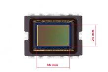 Цифровой сенсор фото-камеры размеры