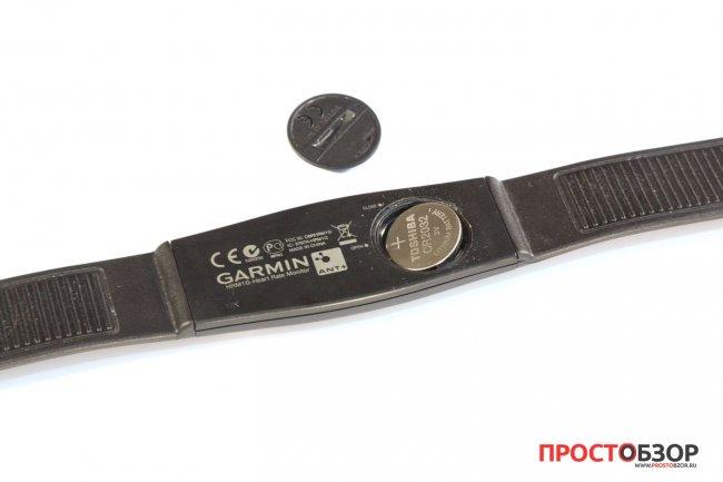 Замена батарейки HRM пульсометров