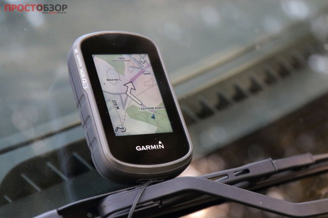 Карманный GPS навигатор Garmin eTrex Touch 35