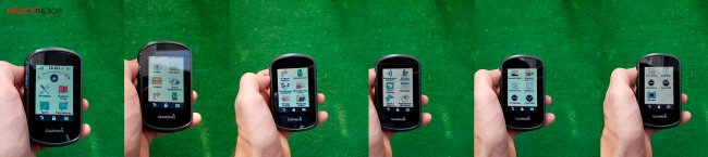 Главное Меню GPS навигатора Garmin Etrex Touch 35