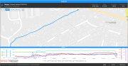 Карта маршрута Garmin Live Track