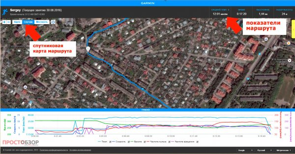 Спутниковая карта Live Track