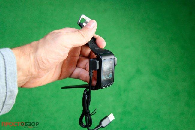 Garmin Vivoactive HR - Подключение через USB