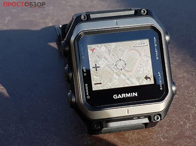 Пример карты с сервиса BirdEye - Garmin Epix