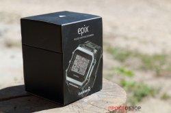 Распаковка часов Garmin Epix - вид сверху