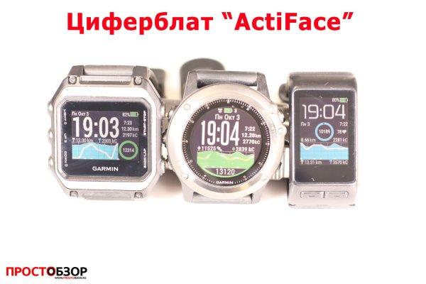 Garmin циферблат для часов Fenix 3 HR, Vivoactive HR, epox - actiface