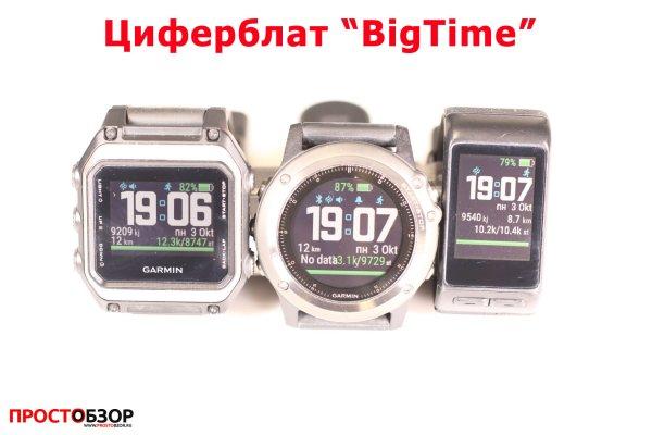 Garmin циферблат для часов Fenix 3 HR, Vivoactive HR, epox -  bigtime