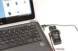 Подключение часов Garmin Vivoactive HR к ПК через USB кабель