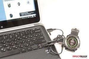 USB кабель зарядки часов Garmin Fenix 3 HR