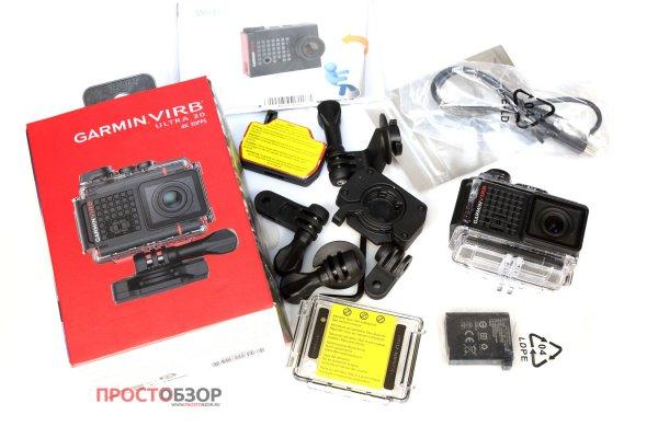 Распаковка Garmin Virb Ultra 30 - полная комплектация