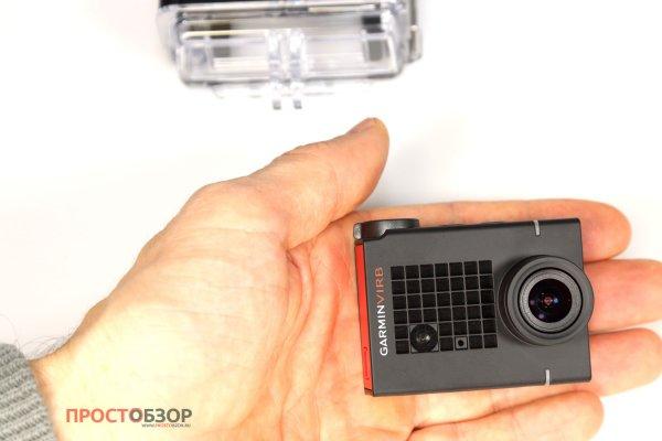 Размеры экшн-камеры Garmin Virb Utrla 30