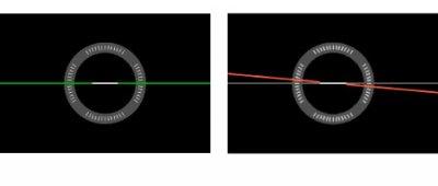 Горизонтальный уровень  - отображение на ЖК-дисплее камеры EOS 70D