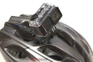 Крепление на шлем экшн-камеры Garmin Virb Ultra 30 - крупный план