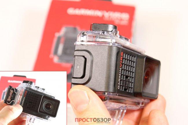 Фиксирующая защелка подводного бокса камеры Garmin Virb Ultra 30