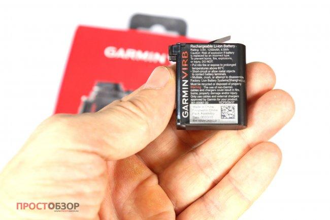 Аккумулятор для камеры Garmin Virb Ultra 30