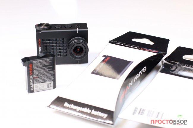 Дополнительные, запасные аккумуляторы для экшн-камеры Garmin Virb Ultra 30