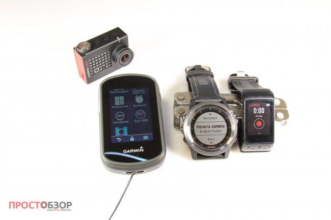Дистанционное управление камерой Garmin Virb Ultra 30 через гаджеты Garmin