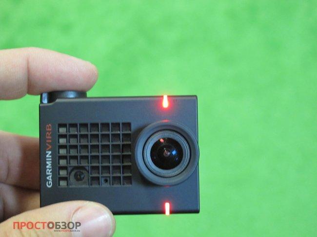 Красные светодиоды - камера записывает видео или фото