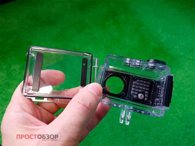 Как снять крышку подводного бокса камеры Garmin Virb Ultra 30