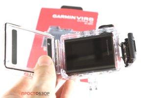 Открытие подводного бокса камеры Garmin Virb Ultra 30