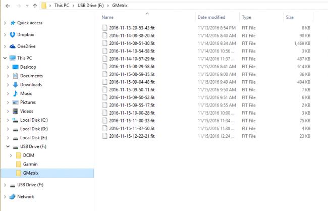 Файлы Gmetrix экшн-камеры Garmin Virb Ultra 30