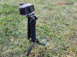 Селфи-палка-монопод с ножками для экшн-камеры Garmin Virb Ultra 30