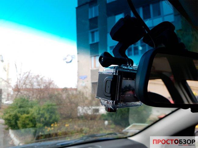 Крепление на стекло авто - камеры Garmin Virb Ultra 30