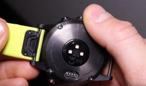 Защелка крепления бирюзового ремня по технологии QuickFit для часов Garmin Fenix 5